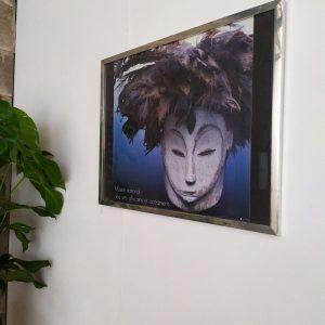 Cadre format moyen – Affiche Masque Africain